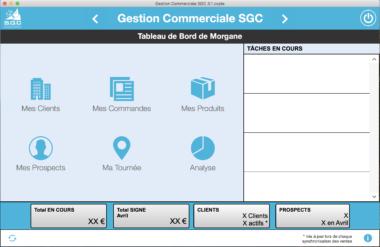 Accueil Gestion Commerciale SGC
